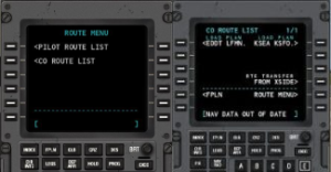 XPFlightPlanner import flight plan into FMS